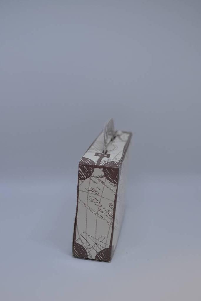 ballotin carton valise festival de la dragée