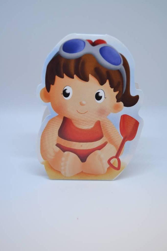 boite à dragée bébé fille plage de la mer festival de la dragée
