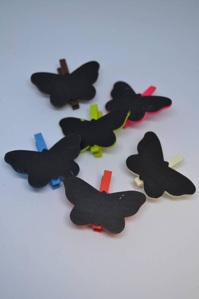 Pince ardoise papillon festival de la dragée