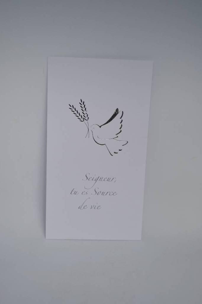 Communion image colombe et épi de blé le festival de la dragée