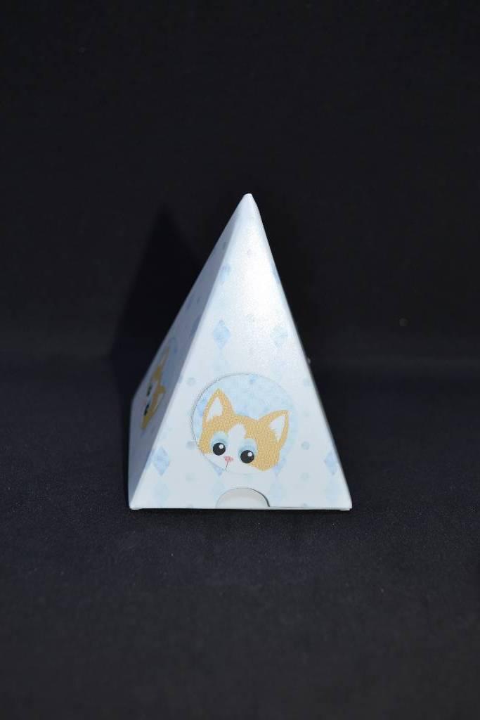 Ballotin à dragée originale pyramide festival de la dragée