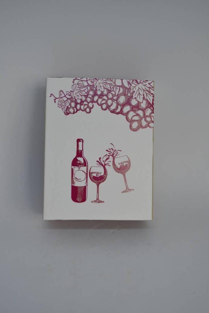 ballotin à dragée sur le thème de la route des vins le festival de la dragée