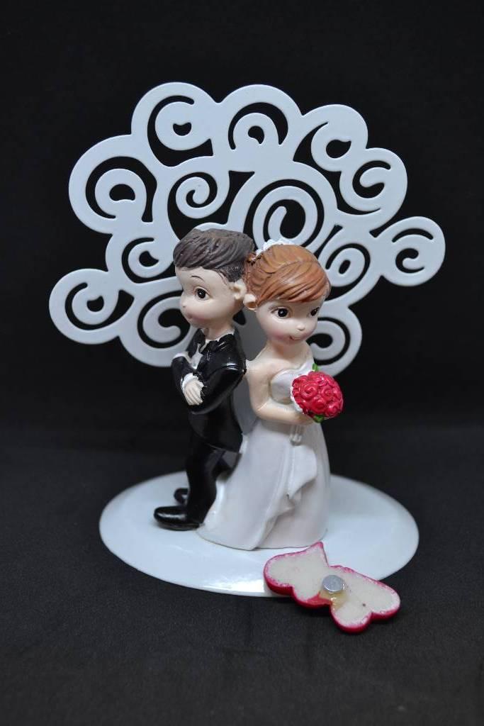Figurine couple de marié festival de la dragée