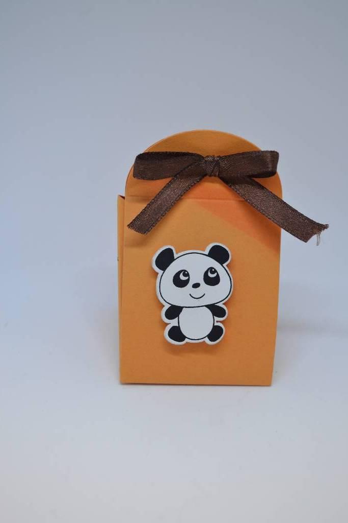 kit à dragée baptême panda festival de la dragée
