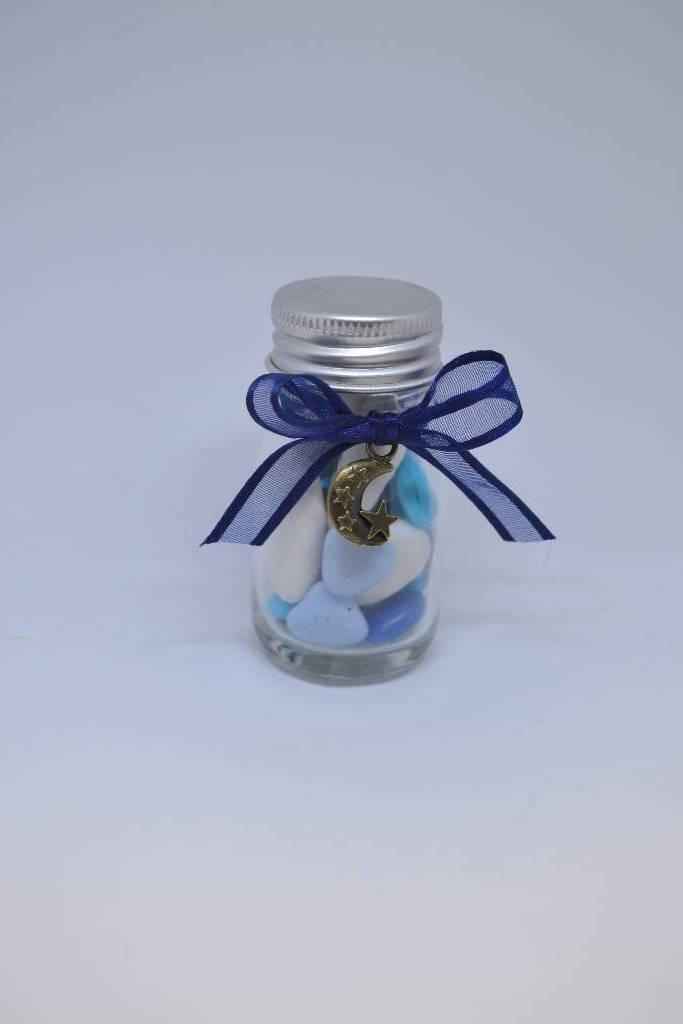 bouteille à dragée lune étoilée festival de la dragée