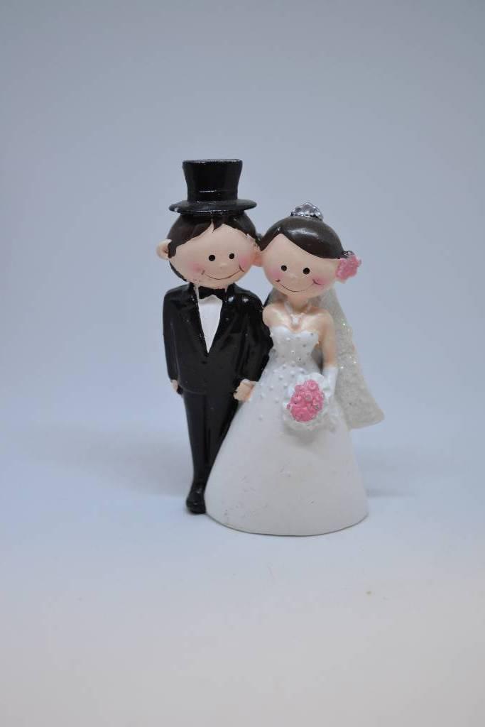 Petite figurine de mariés festival de la dragée