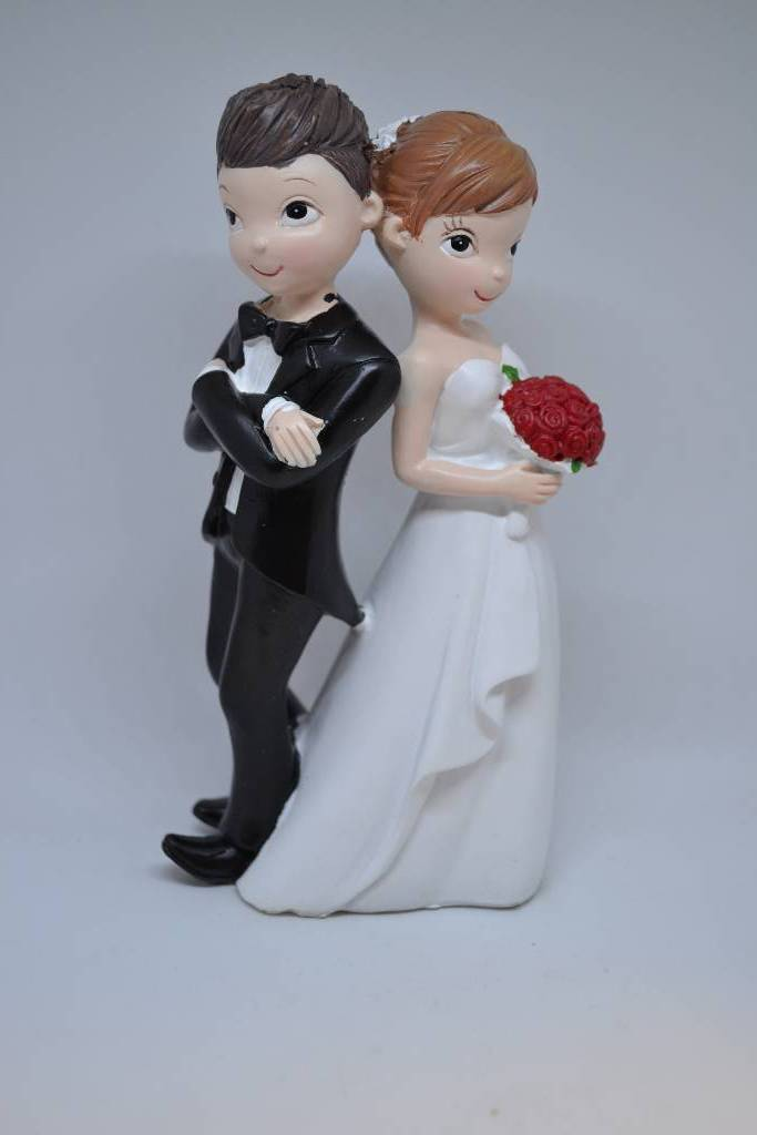 Figurine couple de mariés festival de la dragée