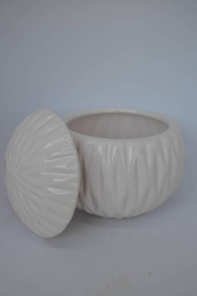bonbonnière boule en porcelaine le festival de la dragée