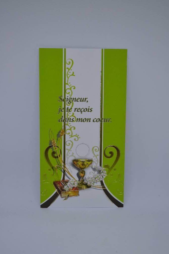 image de  communion vert festival de la dragée