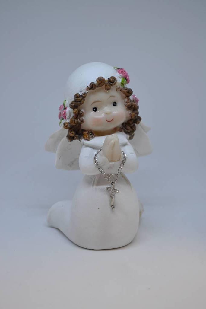 Figurine de communiante de décoration festival de la dragée
