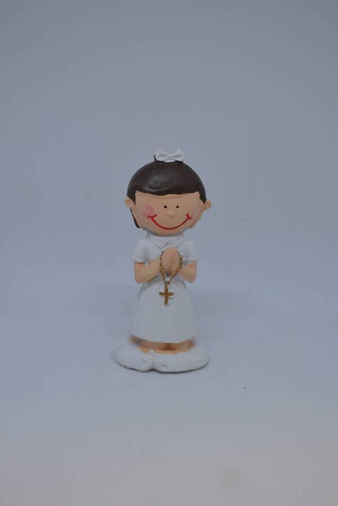 figurine communiante à genou festival de la dragée