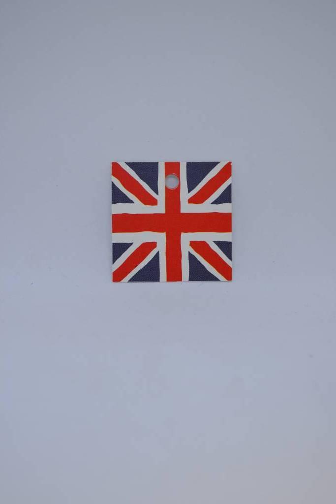 Etiquette drapeau anglais festival de la dragée