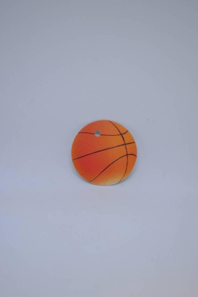 Etiquette ballon de basquet festival de la dragée
