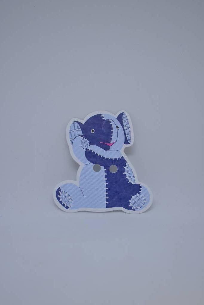Etiquette éléphant pour boite à dragées festival de la dragée