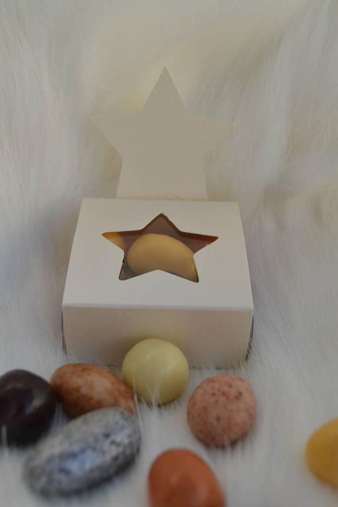 ballotin de chocolat de noël étoilée le festival de la dragée
