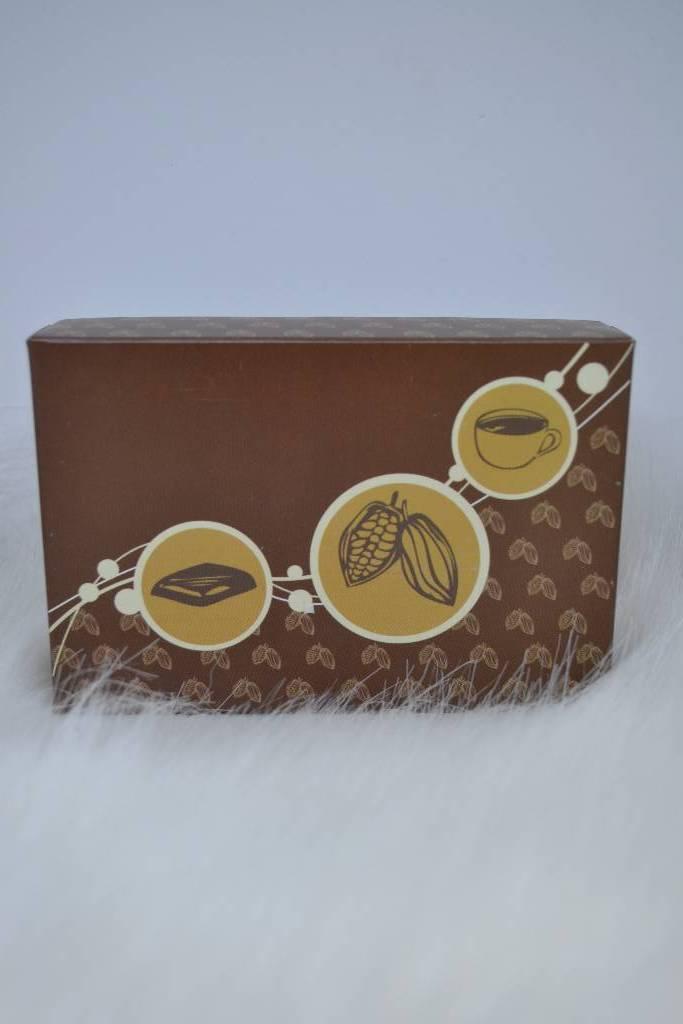 Ballotin de chocolat de noël et fin d'année le festival de la dragée