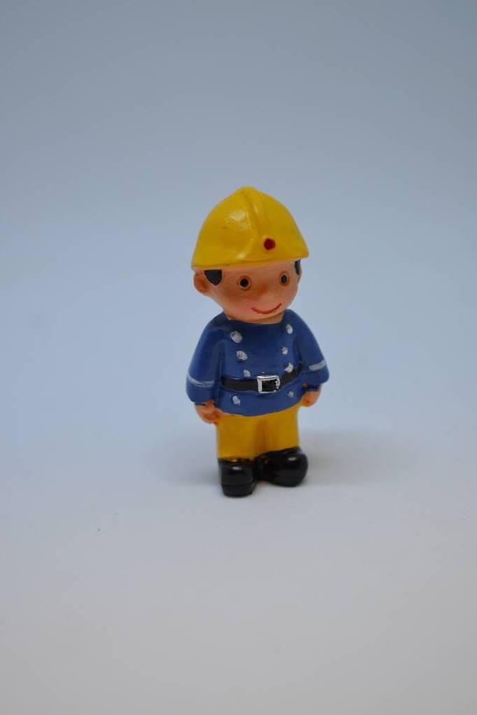 Figurine baptême pompier festival de la dragée