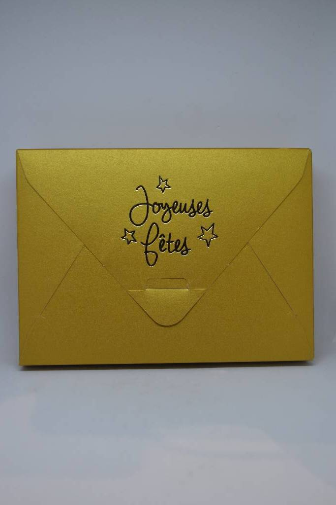ballotin de chocolat de noël enveloppe le festival de la dragée