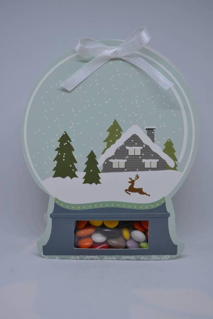 ballotin boule à neige chocolat le festival de la dragée