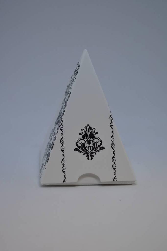 Ballotin à dragée pyramide arabesque festival de la dragée