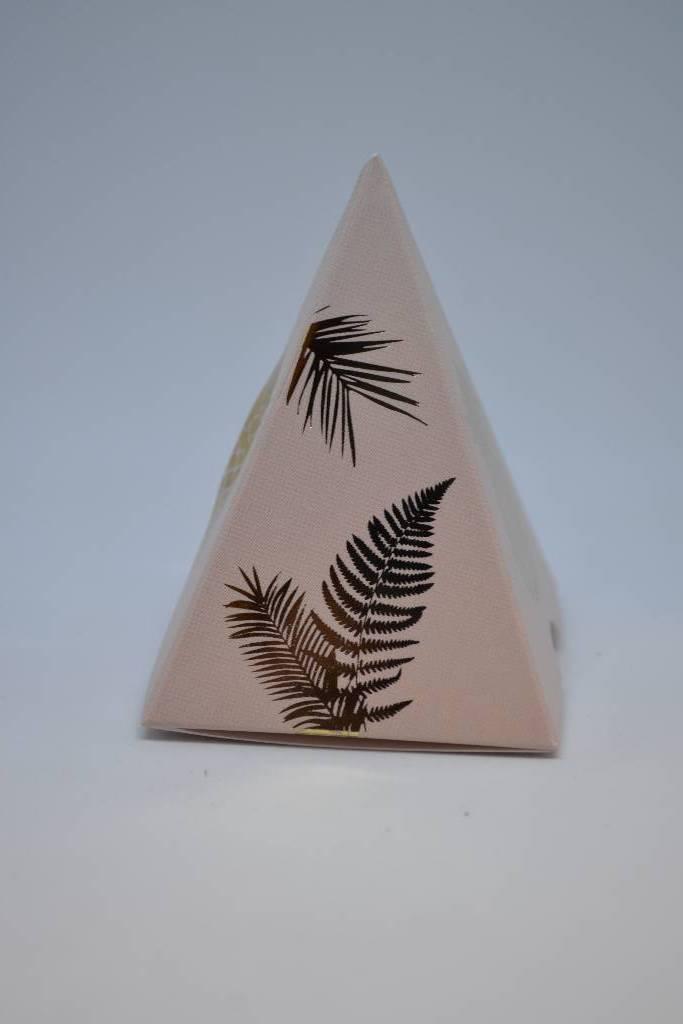Contenant à dragée carton ananas festival de la dragée