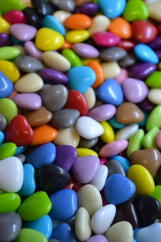 Dragée mini coeur 73% cacao festival de la dragée
