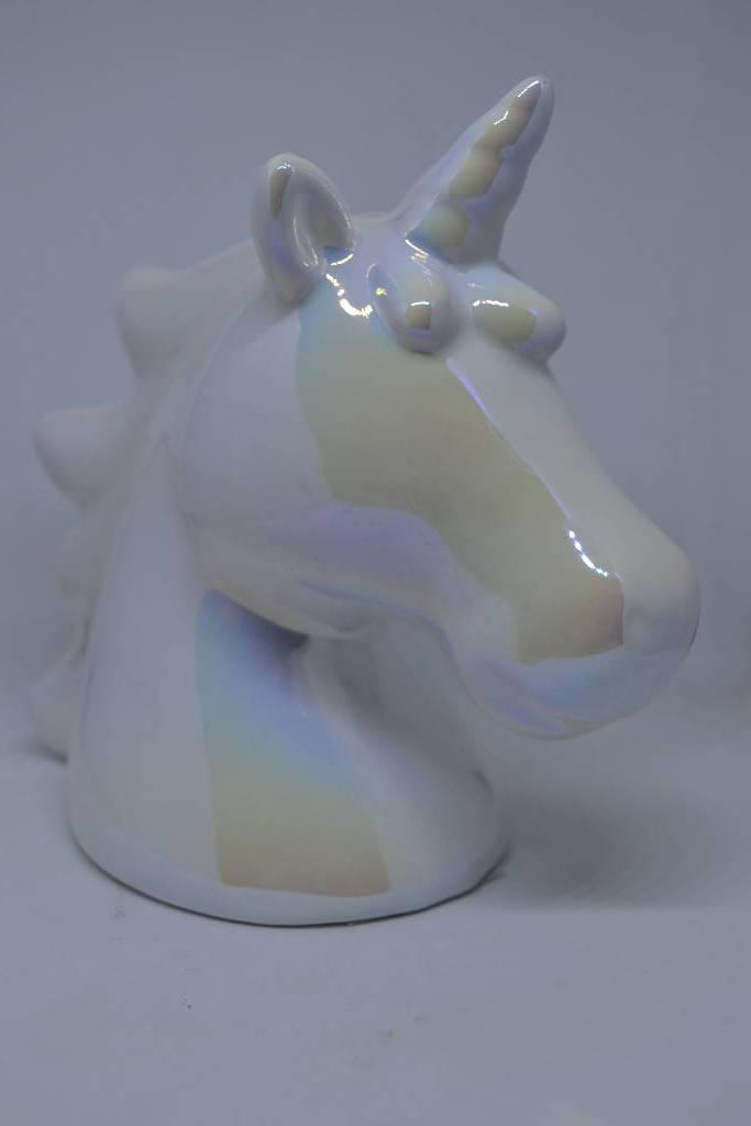 tirelire licorne blanche le festival de la dragée