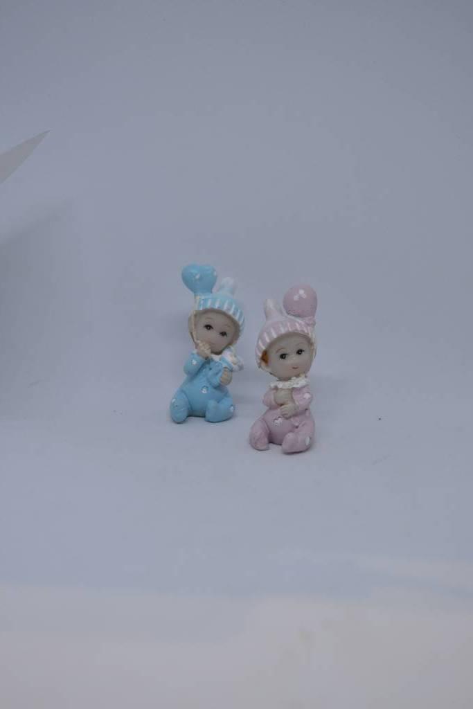 Figurine bébé  fille garçon festival de la dragée
