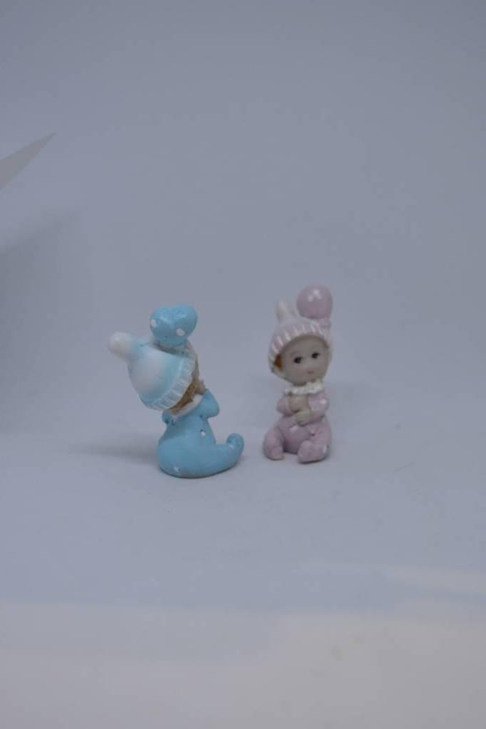 Figurine rose ou bleu le festival de la dragée